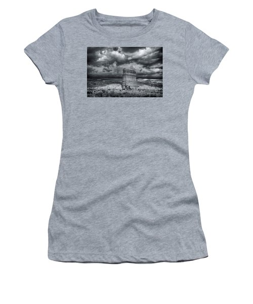 Light On The Rock Women's T-Shirt (Athletic Fit)