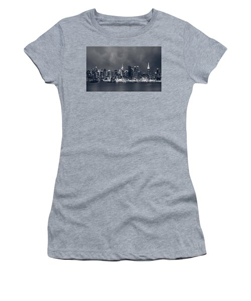 Light Will Drive Out Darkness Women's T-Shirt (Athletic Fit)