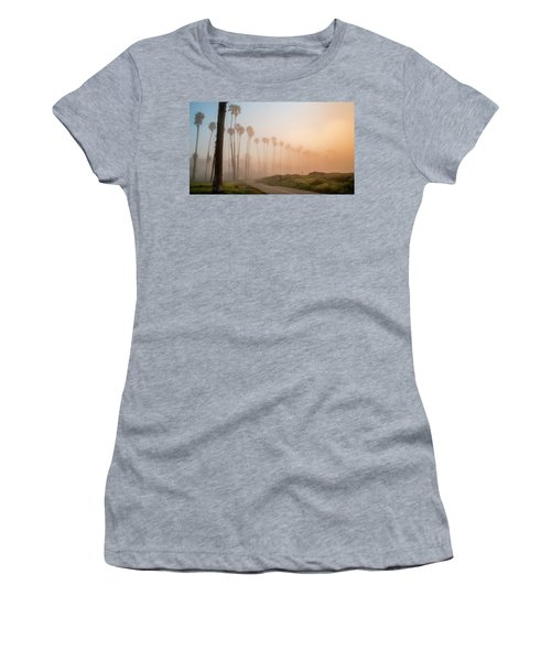 Women's T-Shirt (Junior Cut) featuring the photograph Lighter Longer by Sean Foster