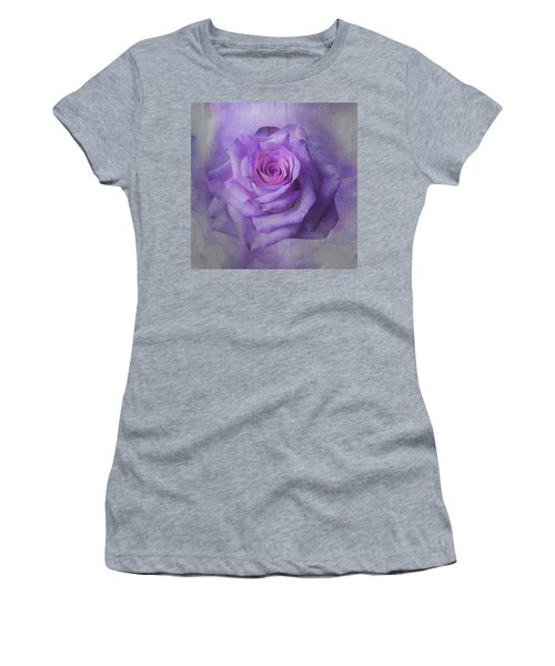 Lilac Purple Rose Women's T-Shirt
