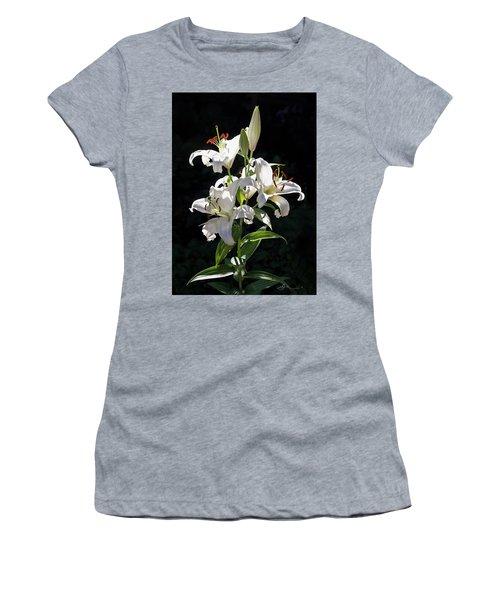 Lilies In The Sun Women's T-Shirt