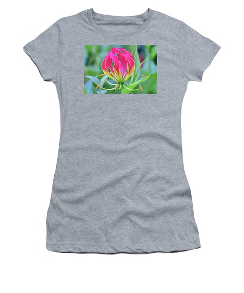 Lily In Flames Women's T-Shirt