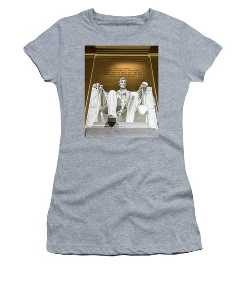 Lincoln Memorial 2 Women's T-Shirt