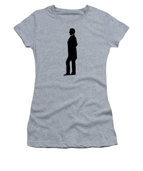 Lincoln Silhouette And Signature Women's T-Shirt