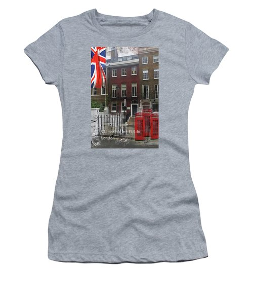 Lincoln's Inn Field Women's T-Shirt (Athletic Fit)