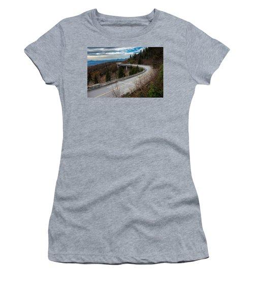 Linn Cove Viaduct Late Fall Women's T-Shirt