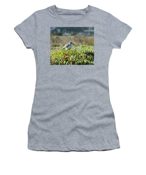 Women's T-Shirt (Junior Cut) featuring the photograph Little Bird by Yurix Sardinelly