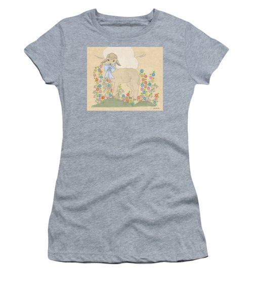 Little Lamb Lightened Women's T-Shirt