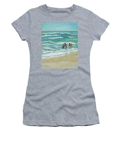 Little Surfers Women's T-Shirt