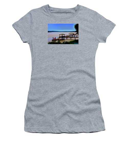 Living In The Lowcountry Women's T-Shirt (Athletic Fit)