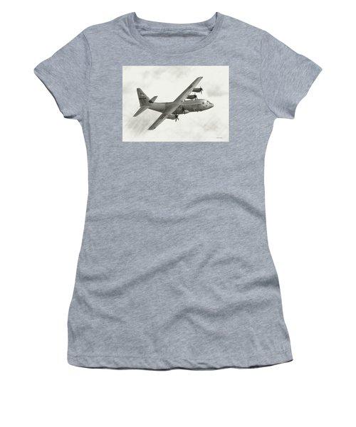 Lockheed C-130j Hercules Women's T-Shirt
