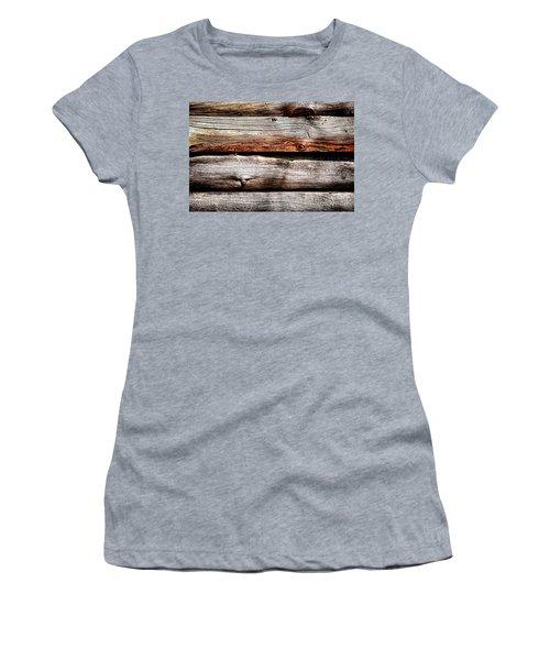 Log Cabin Wall Women's T-Shirt