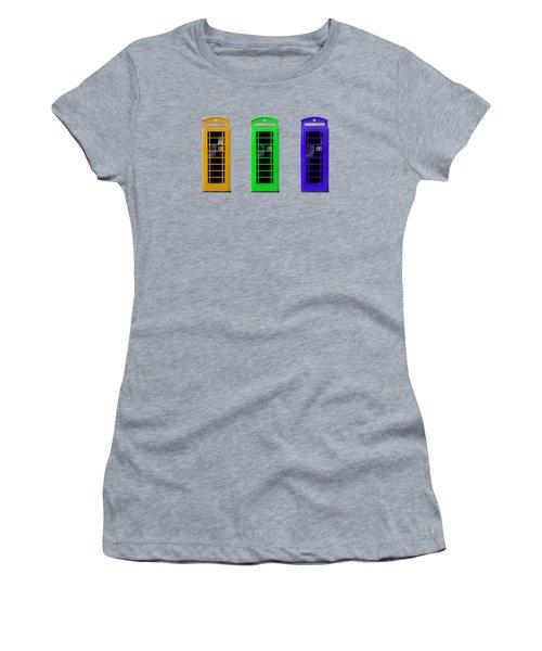 London Telephone Boxes Women's T-Shirt