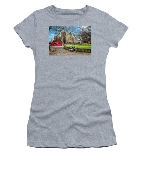 Women's T-Shirt (Junior Cut) featuring the photograph London Transport by Adrian Evans