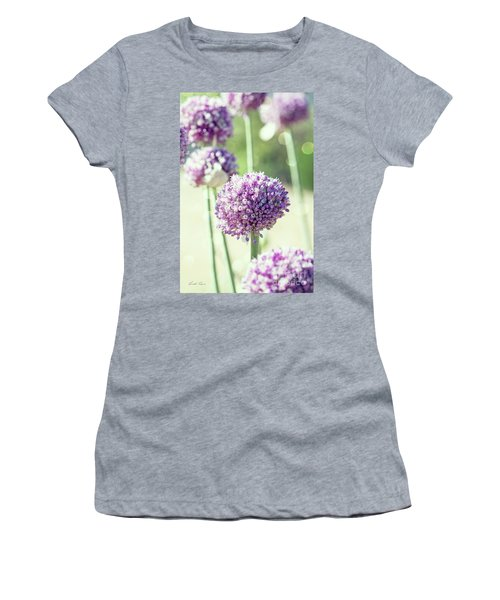 Women's T-Shirt (Athletic Fit) featuring the photograph Longing For Summer Days by Linda Lees