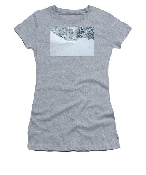 Lonly Road- Women's T-Shirt