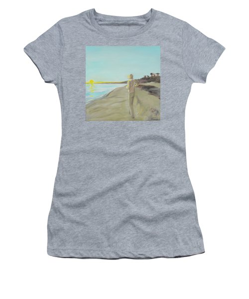 Looking South Tryptic Part 3 Women's T-Shirt