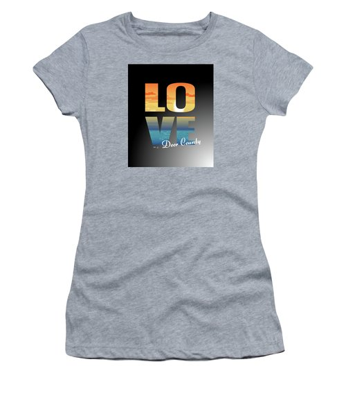 Love Door County Women's T-Shirt