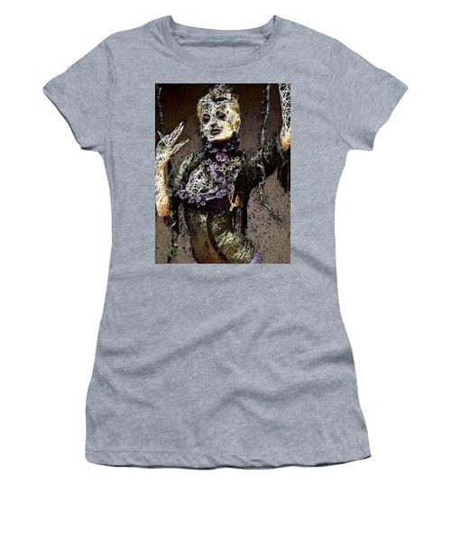 Women's T-Shirt featuring the mixed media Lovely Agony by Al Matra