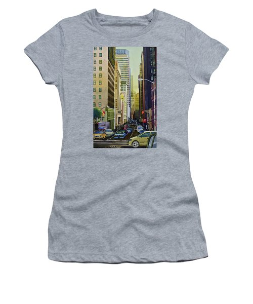 Lower Pine Street Women's T-Shirt (Athletic Fit)