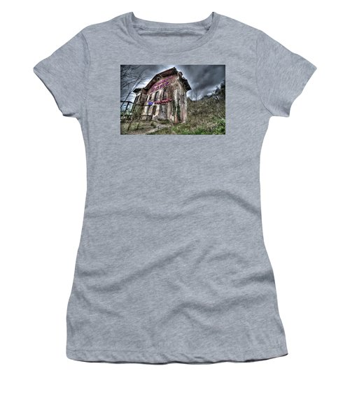 Luciano's Motel Women's T-Shirt (Athletic Fit)