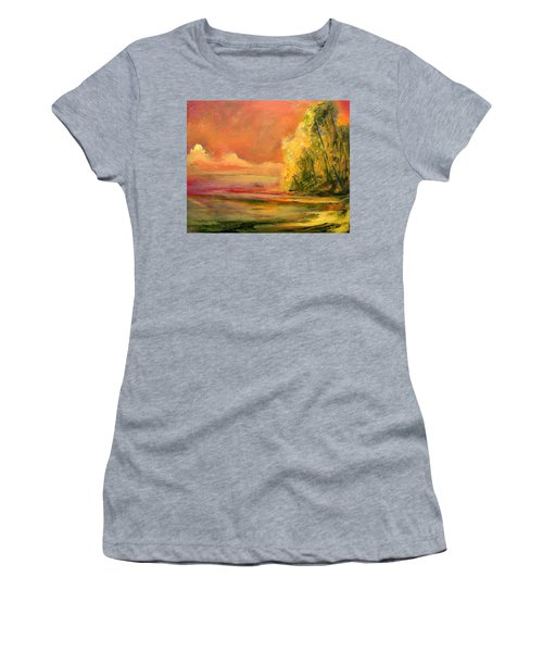Luminous Sunset 2-16-06 Julianne Felton Women's T-Shirt