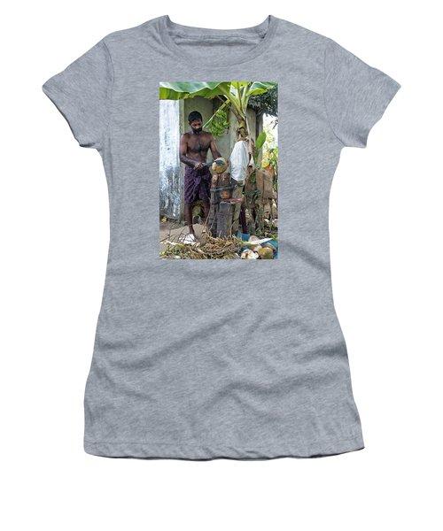 Lunch Women's T-Shirt (Junior Cut) by Marion Galt