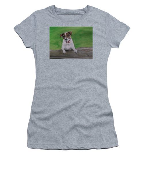 Maddie Women's T-Shirt (Junior Cut) by Carole Robins