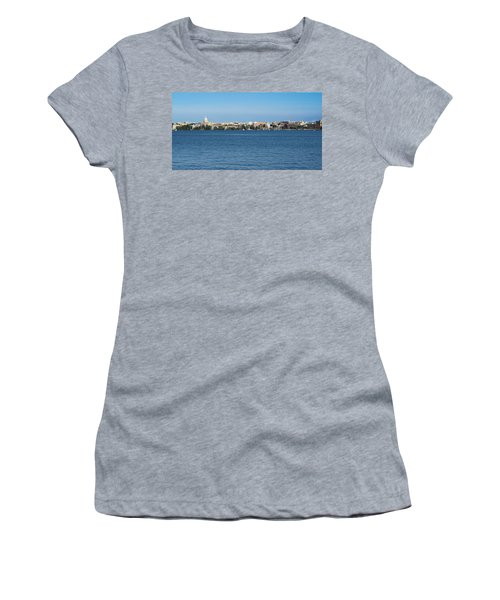 Madison Skyline From Picnic Point Women's T-Shirt