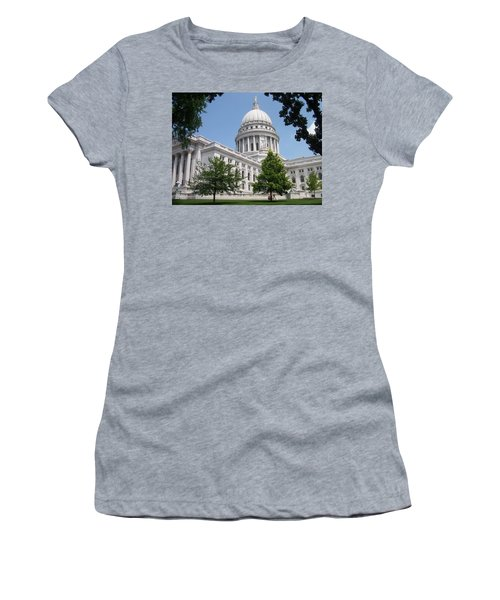 Madison Wi State Capitol Women's T-Shirt