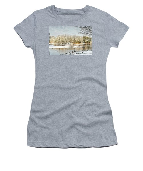 Magic Of Winter Women's T-Shirt (Athletic Fit)