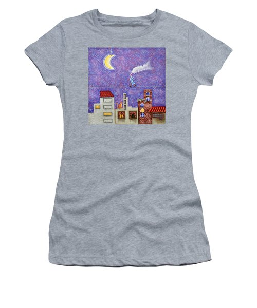 Magical Night Women's T-Shirt (Athletic Fit)