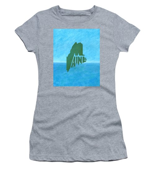 Maine Wordplay Women's T-Shirt