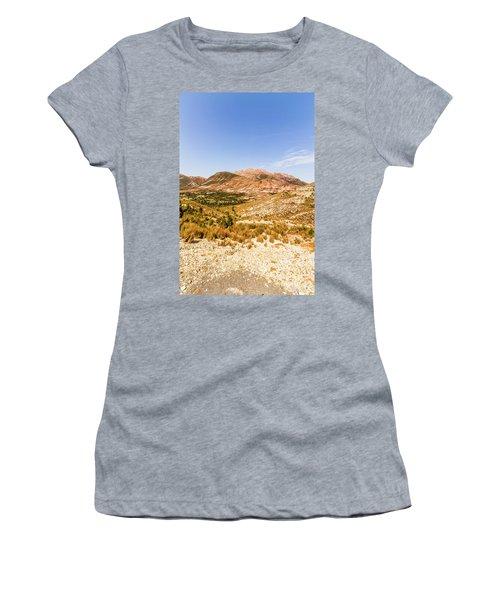 Majestic Arid Peaks Women's T-Shirt