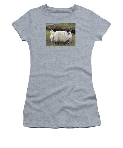 Majestic Ram Of Ireland Women's T-Shirt (Athletic Fit)