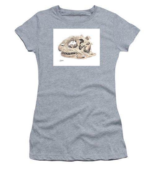 Majungasaur Skull Women's T-Shirt