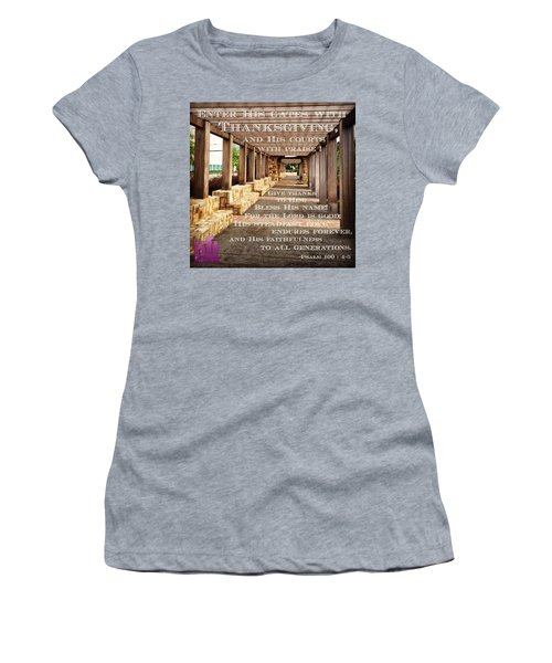 Make A Joyful Noise To The Lord, All Women's T-Shirt