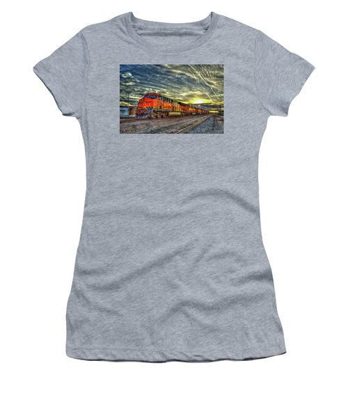 Make Way Resting B N S F Train Gallup New Mexico Art Women's T-Shirt