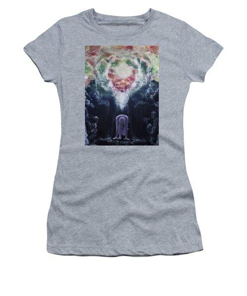 Making Angels Women's T-Shirt (Junior Cut) by Cheryl Pettigrew