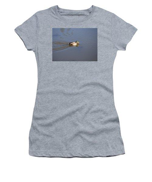 Mallard Duck Burgess Res Co Women's T-Shirt