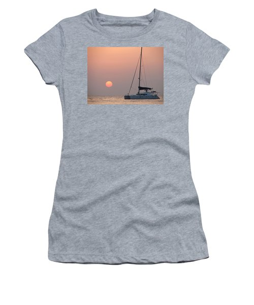 Women's T-Shirt (Junior Cut) featuring the photograph Mallorca 3 by Ana Maria Edulescu