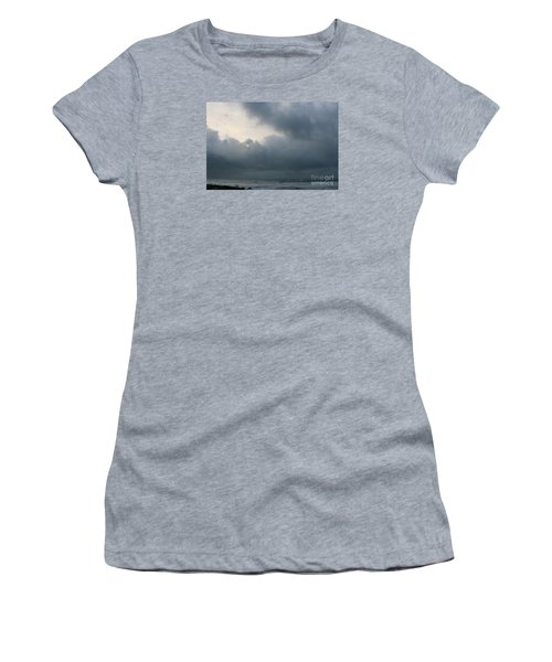 Women's T-Shirt (Junior Cut) featuring the photograph Man And Nature by Jeanette French