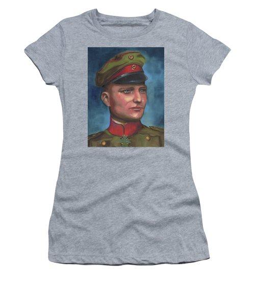 Manfred Von Richthofen The Red Baron Women's T-Shirt