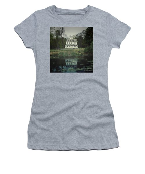 Mansion Reflected At Waterloo Women's T-Shirt (Athletic Fit)