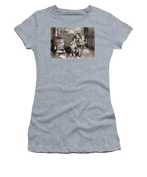 March 1937 Scott's Run, West Virginia Johnson Family. Women's T-Shirt