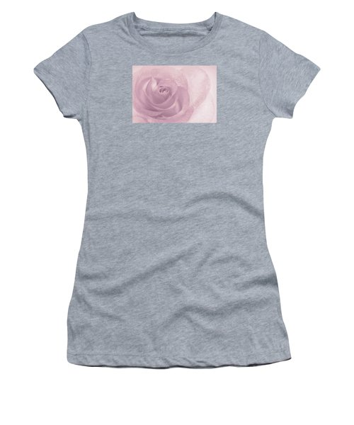 Marilyn's Dream Rose Women's T-Shirt (Junior Cut) by The Art Of Marilyn Ridoutt-Greene