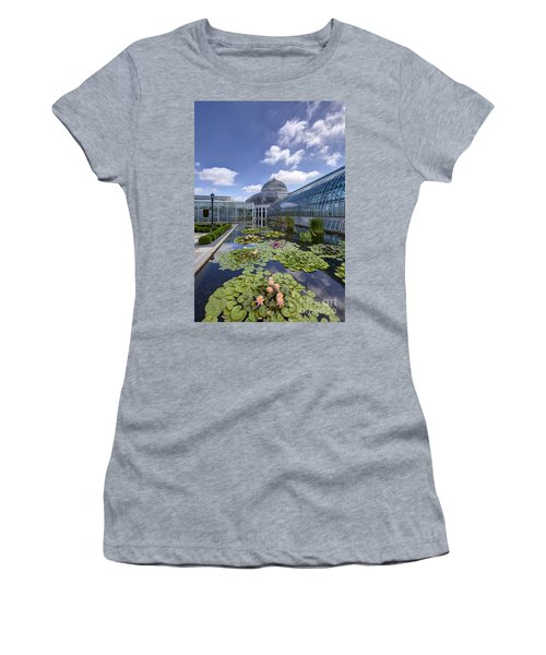 Marjorie Mcneely Conservatory At Como Park And Zoo Women's T-Shirt