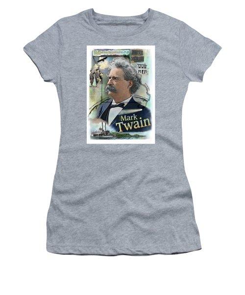 Mark Twain Women's T-Shirt (Athletic Fit)