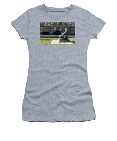 Marulic Square Zagreb  Women's T-Shirt (Athletic Fit)