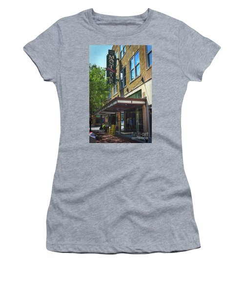Women's T-Shirt (Junior Cut) featuring the photograph Mast General by Skip Willits